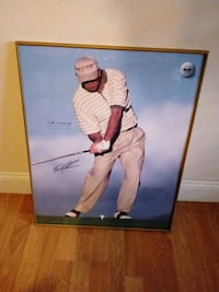 Large autographed photo Tom leman Ocala, 34479