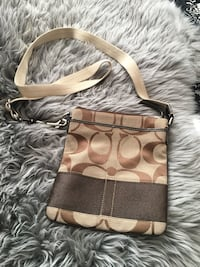 brown and beige Coach leather hobo bag Calgary, T2H