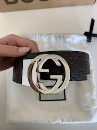 black and white Gucci belt Los Angeles, 90048