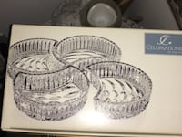 Crescent Collection Dish Set snacks/candy dished (4) CAPITOLHEIGHTS