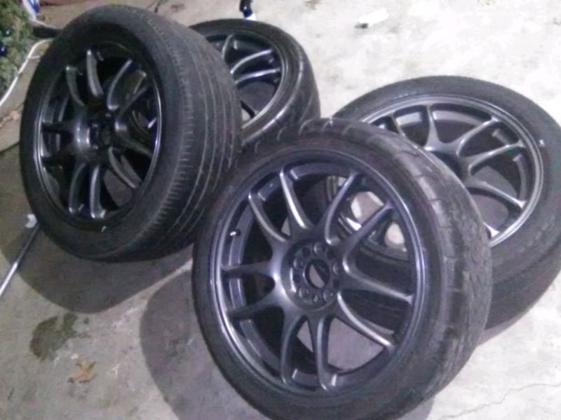 Rims for sale not tires they are no good 9180afd3-d7f4-4a9f-bcbf-64c836fb11d2