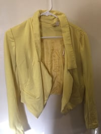 Yellow, midriff, blazer Franklin, 37064