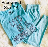 teal and white crew-neck shirt El Paso, 79912