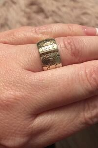 Coach ring- silver -size 6 Vancouver, V6B 0N3