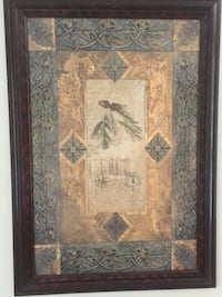 brown wooden framed painting of woman Littleton, 80123