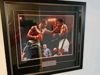 RARE !Muhammed ali vs Ken Norton  signed with COA  Mississauga, L5N 8L9