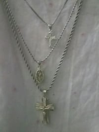 silver-colored chain necklace with pendant Louisville, 40210
