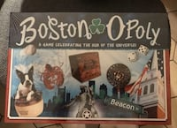 Boston Opoly Board Game New Sealed Revere, 02151