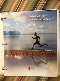 Human Biology (12th edition) -brand new binder edition