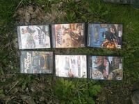 assorted Nintendo Wii game cases Syracuse, 13208