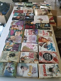 Free free 63 Paperback books good condition..take all for $15