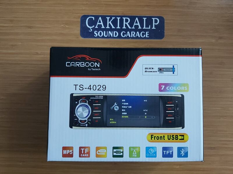 "KAMPANYA!!! CARBOON 4"" EKRANLI BLUETOOTH'LU OTO TEYP  0"