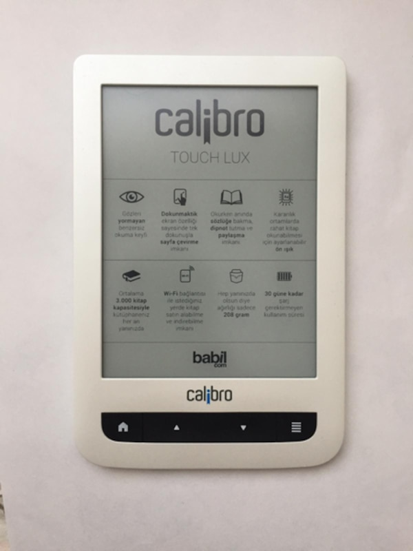 Calibro Touch Lux (e-book) 0