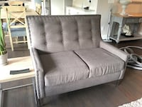 gray fabric 2-seat sofa Maple Ridge, V2W