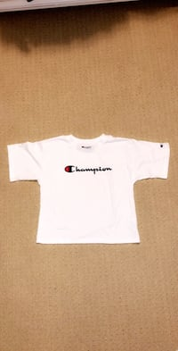Youth girls chnapion crop top