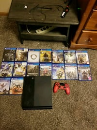 First generation ps4 with lots of games Council Bluffs, 51501