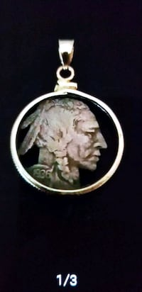 Indian Head Nickel Pendant  Fairfax, 22031