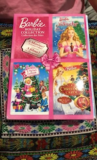 Barbie holiday DVD collection Mississauga