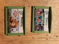 Two LeapFrog games Knoxville, 37912