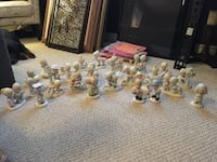Assorted clear glass candle holders Barrie, L4M 7H2