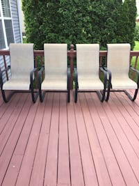 Patio/Deck Chairs (Set of 4)