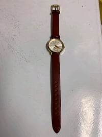 Michael KORRS stainless steel leather watch Newark