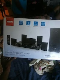 black home theater system box Sacramento, 95823