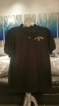 Vintage airforce black Polo