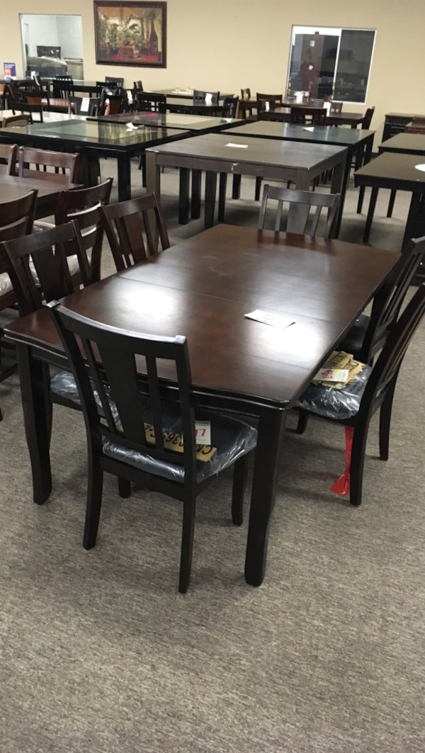Used Dark Cherry Dining Table Only GV 052517 For Sale In Tempe