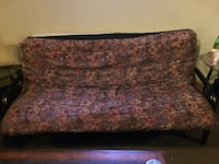 brown and black floral fabric sofa 540 km