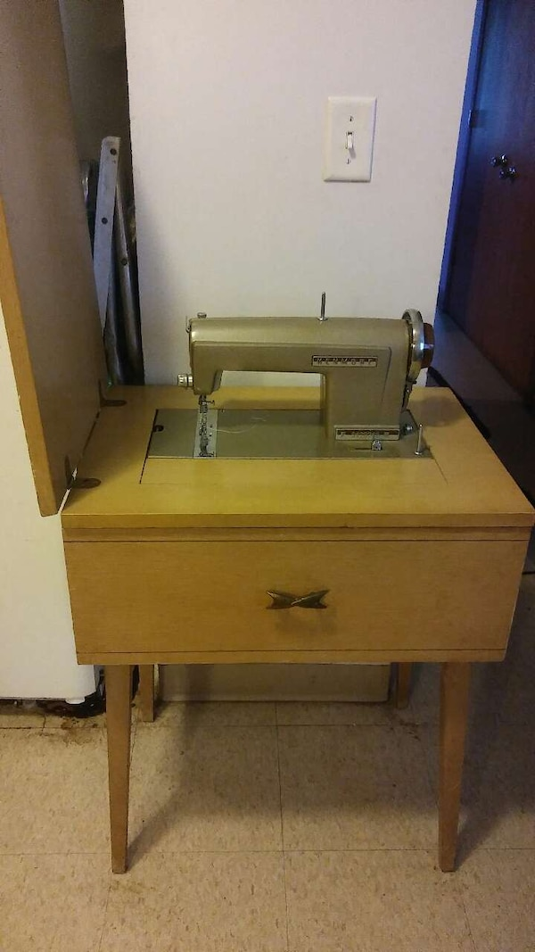 Used Antique Kenmore Sewing Machine Model 4040 For Sale In St Stunning Antique Kenmore Sewing Machine With Cabinet