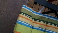 blue, white, and green textile Laval, H7X 3H2