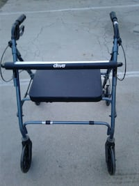 black and gray Drive rollator walker 2285 mi