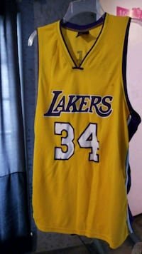 yellow and blue Lakers 24 jersey Bellflower, 90706