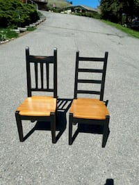 Solid wood chairs. OBO Vernon, V1H 1C1