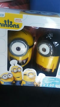 Minions body wash box Ontario, M4C 5J6