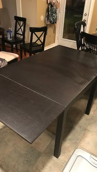 Black Wood Kitchen Table Pearland, 77584