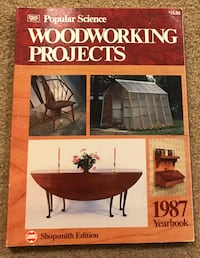 Woodworking Projects - Popular Science 1987 Yearbook