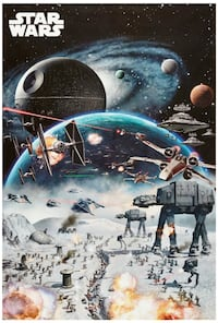 2 Star Wars posters Montebello, 90640