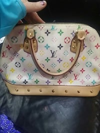 multicolored Louis Vuitton leather handbag Kitchener, N2M