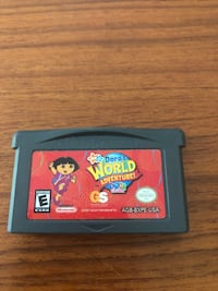 Dora's World Adventure Game Boy Advance Toronto, M1S 1V9