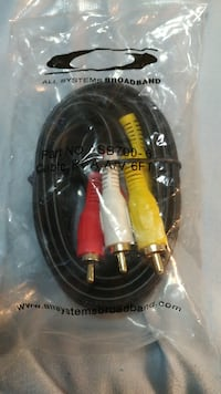 black and yellow HDMI cable Hampton