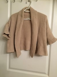 brown and white striped cardigan Edmonton, T6T 0H3