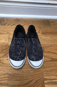 Coach Black Sneakers With Fur Vaughan, L4J 8K5
