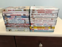 Various unopened DVDs null