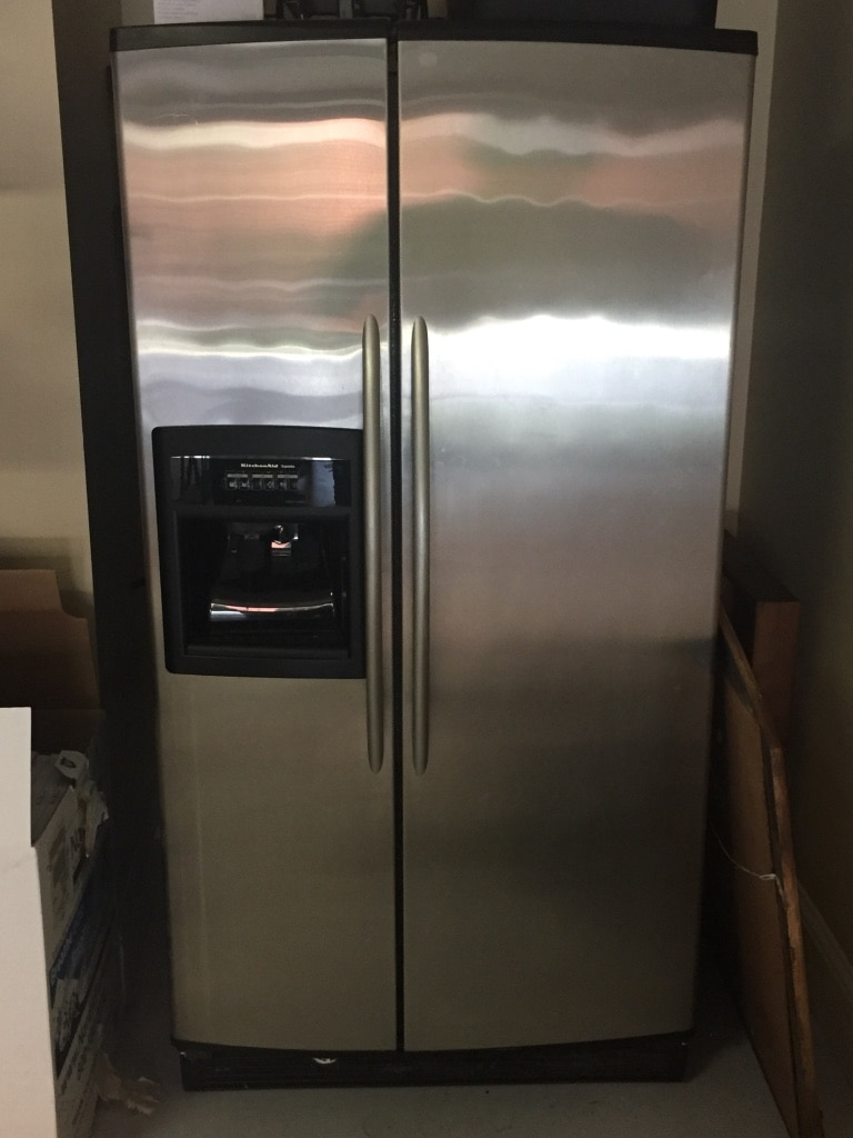 KitchenAid Superba Side By Side Stainless Steel Refrigerator