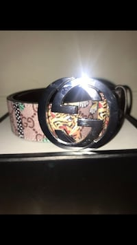 black and brown Gucci belt Arlington, 22207