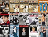 Entertainment Weekly EW ~ (1990 to 2004) 400+ Issues Mississauga, L4W