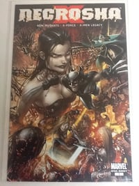 NECROSHA X #1 Comic Book - Marvel X-Force X-Men