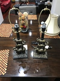 A pair of night table lamps Vaughan, L6A 3W6